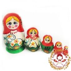 """Матрешка """"Барашек"""" 5 кукольная"""