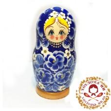 """Матрешка """"Василек малый"""" 5 кукольная"""