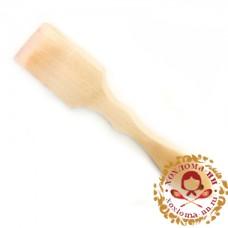 Лопатка деревянная без росписи